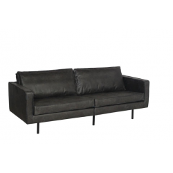 Texas sofa i sort /220cm