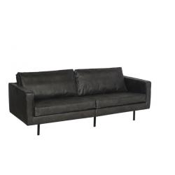 Texas sofa i sort /220cm