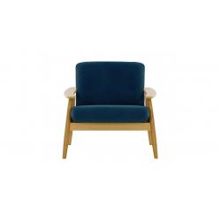 Vejle stol  blå