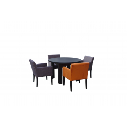 Bord + 4 stoler